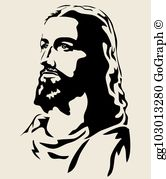 Jesus in a profile sitting position clipart jpg royalty free stock Jesus Clip Art - Royalty Free - GoGraph jpg royalty free stock