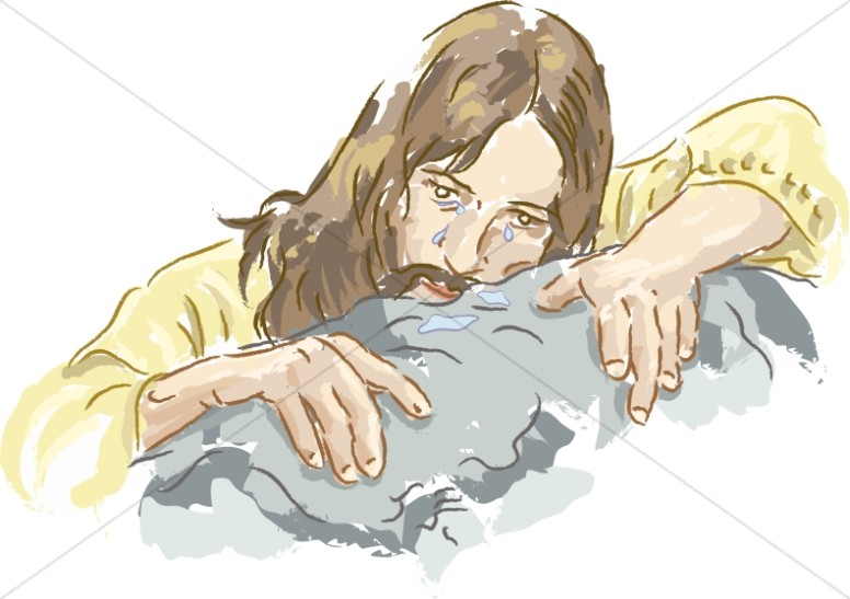 Jesus in a profile sitting position clipart transparent Jesus in Prayer | Jesus Clipart transparent
