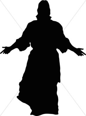 Jesus in a profile sitting position clipart jpg royalty free silhouettes of famous faces - Google Search | zentangles | Jesus ... jpg royalty free