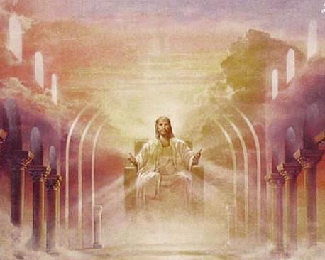 Jesus in the throne in heaven clipart clip art library library Jesus sitting on his throne in Heaven | Amazing Pictures Of Jesus ... clip art library library