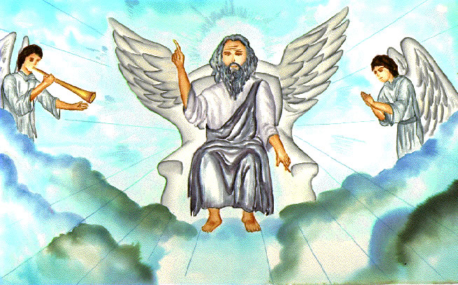 Jesus in the throne in heaven clipart graphic free Free Heavenly Cliparts, Download Free Clip Art, Free Clip Art on ... graphic free