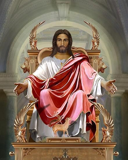 Jesus in the throne in heaven clipart svg transparent library Jesus christ sitting on throne clipart - image #7 | JESUS, JESUS ... svg transparent library