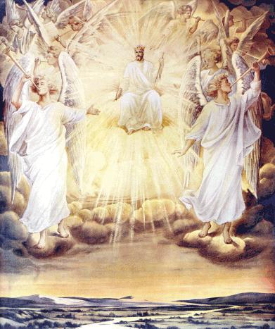 Jesus in the throne in heaven clipart vector library library Heavenly King Cliparts - Cliparts Zone vector library library