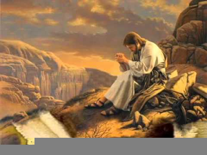 Jesus in the wilderness clipart graphic royalty free Jesus Tempted In The Desert Clipart   Free Images at Clker.com ... graphic royalty free