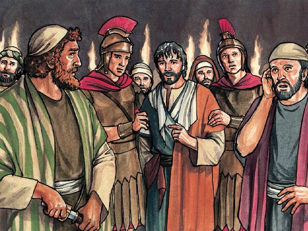 Jesus is arrested clipart jpg free stock FreeBibleimages :: Prayer in the garden :: Jesus prays in the garden ... jpg free stock