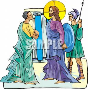 Jesus is arrested clipart jpg library download Jesus Being Arrested By A Roman Soldier - Royalty Free Clipart Picture jpg library download