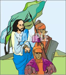 Jesus is arrested clipart picture download Jesus Being Arrested By Roman Soldiers - Royalty Free Clipart Picture picture download