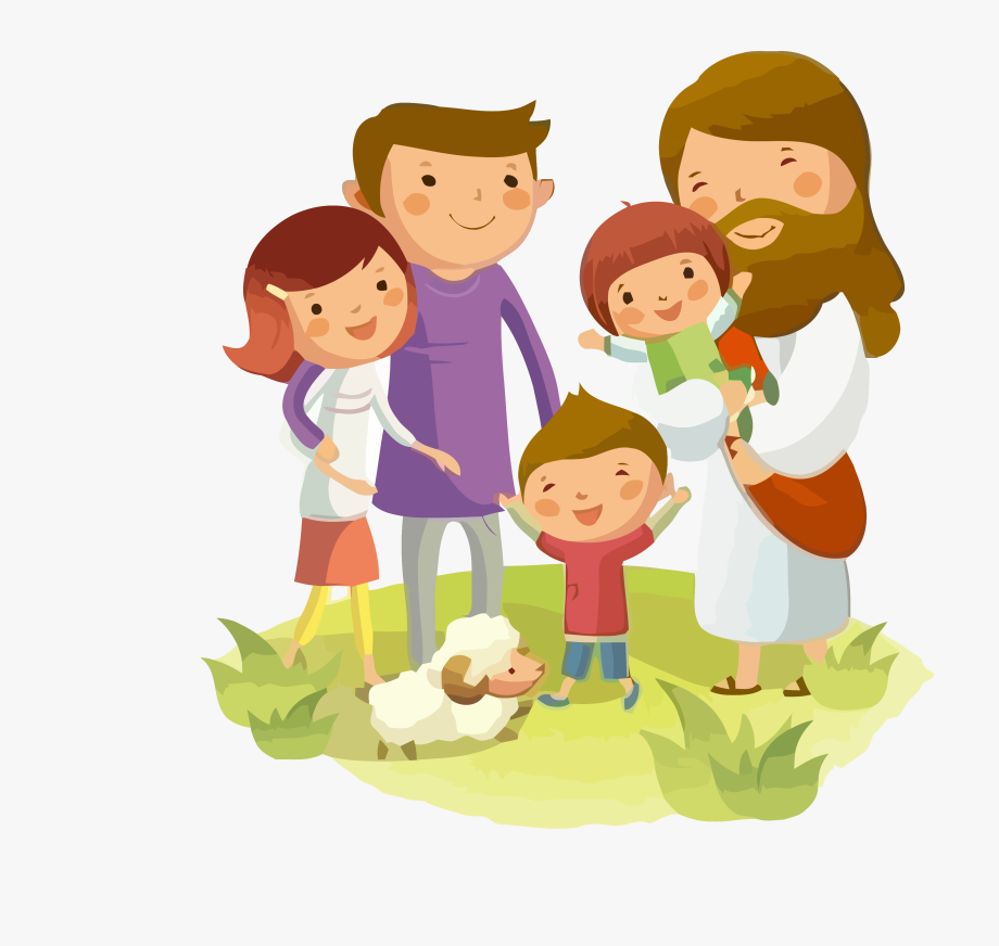 Jesus kids clipart black and white download Jesus Clipart For Kids - Cuida A Mi Familia #529053 - Free Cliparts ... black and white download