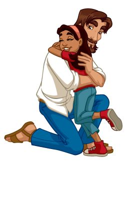 Jesus kids clipart free Jesus And The Children Clipart | Free download best Jesus And The ... free
