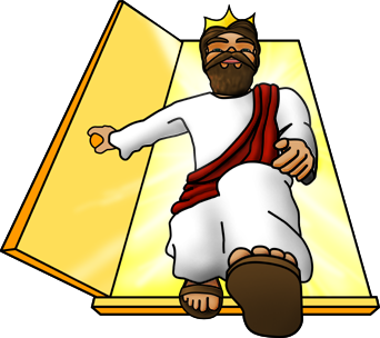 Jesus king clipart