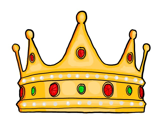 Jesus king clipart vector black and white Jesus crowned king with holy annointing oil clipart - ClipartFox vector black and white