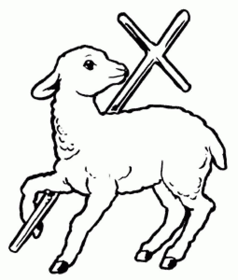 Lamb of god clipart clip freeuse library Gallery for - clip art lamb of god | Words on Wood | Christian ... clip freeuse library