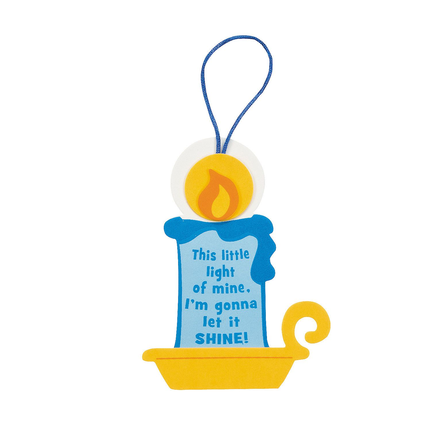 "Jesus light clipart clipart download This Little Light of Mine"" Ornament Craft Kit - OrientalTrading.com ... clipart download"