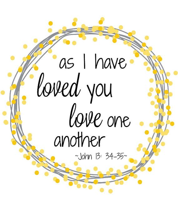 Jesus loving others clipart banner free download As I have loved you love one another John 13:34-35 | Words of Wisdom ... banner free download