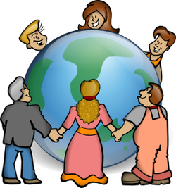Jesus loving others clipart free A \'REAL\' Christian loves everybody!\