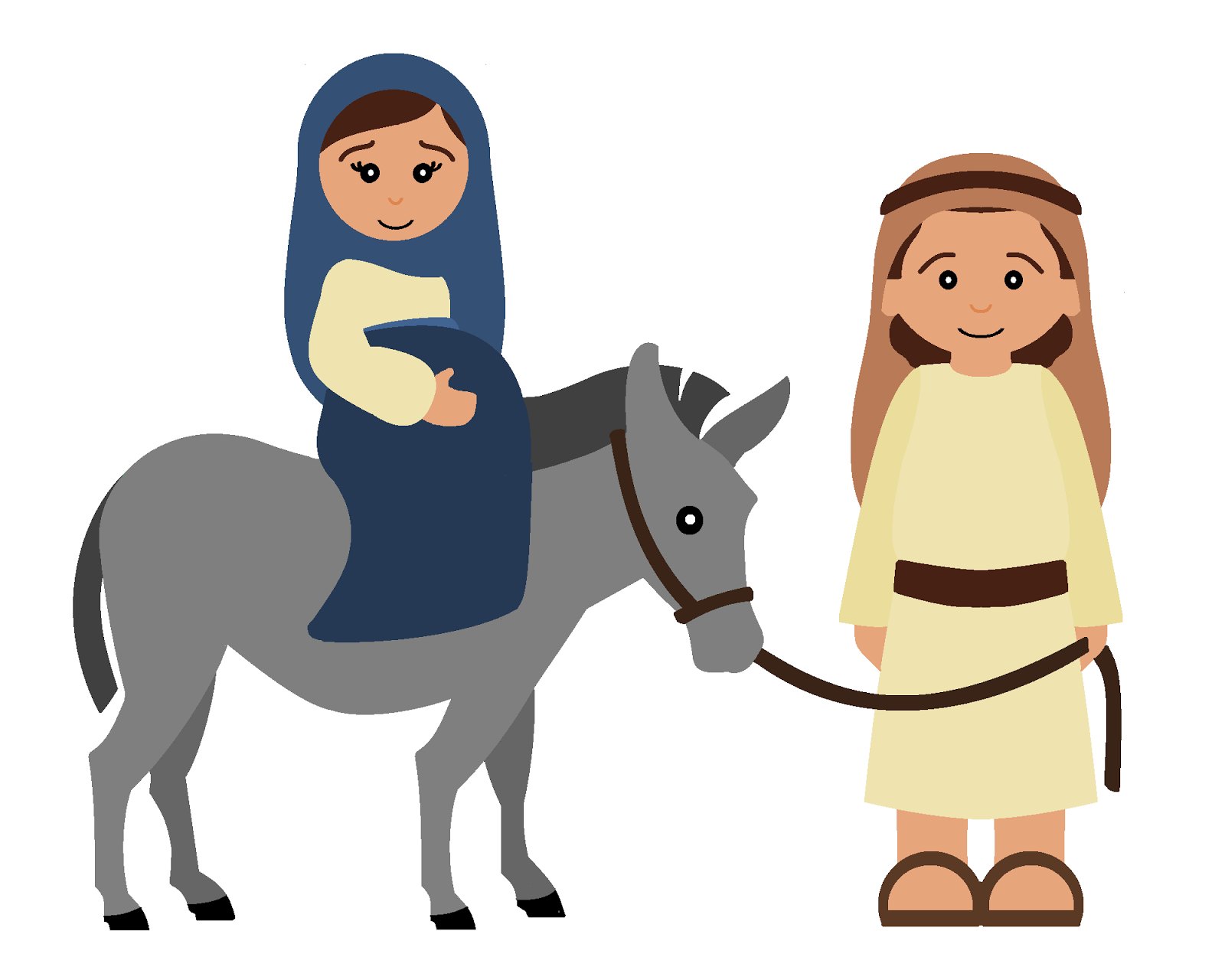 Jesus mary and joseph clipart vector download Mary joseph jesus clipart graphics - ClipartFox vector download