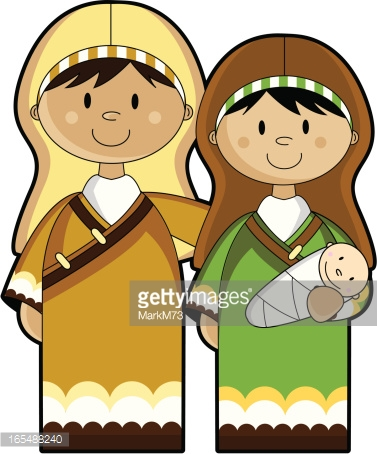 Jesus mary and joseph clipart vector transparent download Mary Joseph Baby Jesus In Barn Vector Art | Getty Images vector transparent download