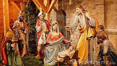 Jesus mary joseph christmas clipart svg black and white library Baby Jesus Manger Stock Photos, Images, & Pictures - 2,118 Images svg black and white library