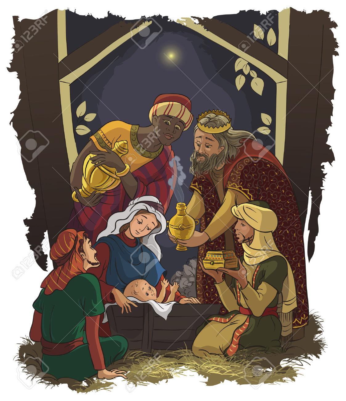 Jesus mary joseph christmas clipart image royalty free stock 1,442 Jesus Mary Joseph Stock Illustrations, Cliparts And Royalty ... image royalty free stock