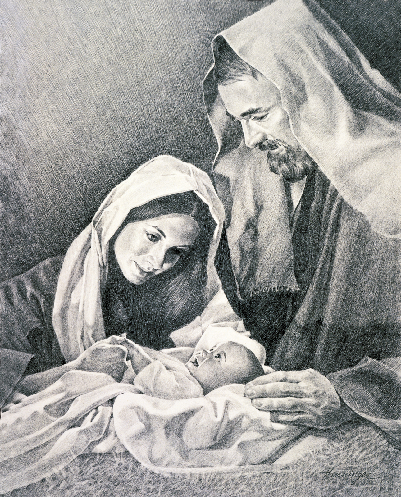 Jesus mary joseph christmas clipart png library The Nativity png library