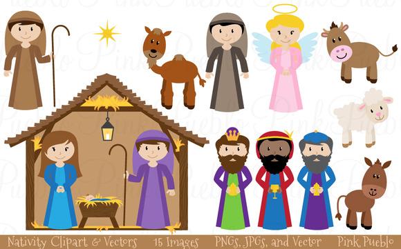 Jesus mary joseph christmas clipart royalty free stock Mary joseph jesus clipart - ClipartFox royalty free stock