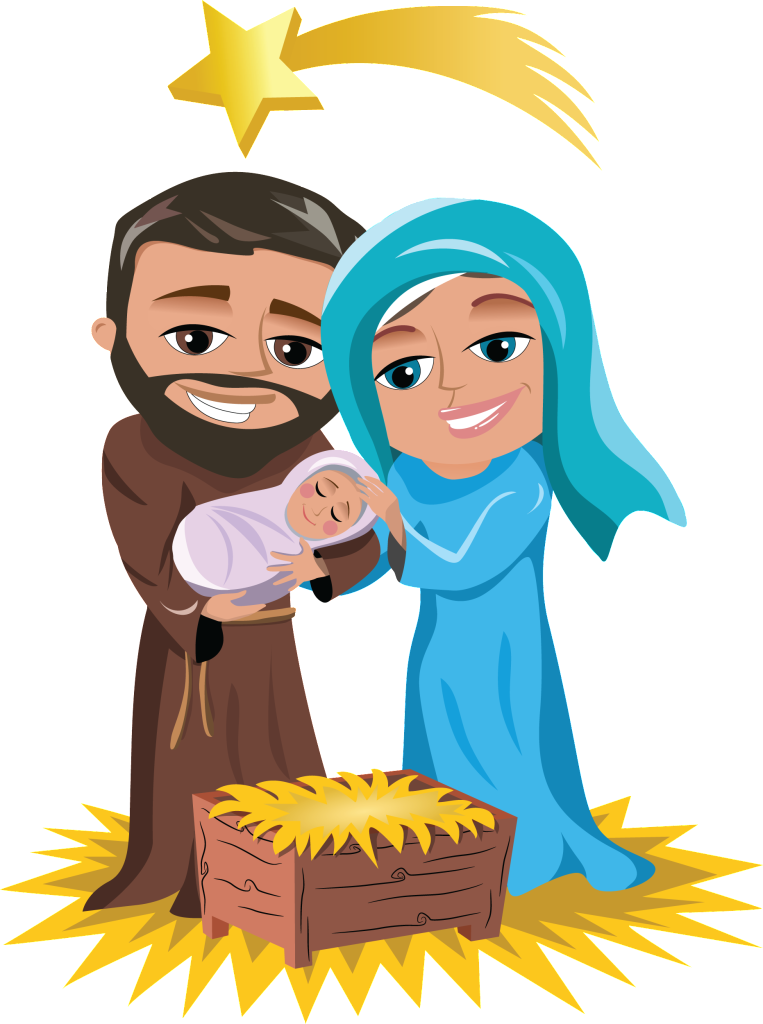 Mary and jesus playing clipart graphic royalty free download Joseph And Mary With Infant Jesus • Teaching methods for religion ... graphic royalty free download