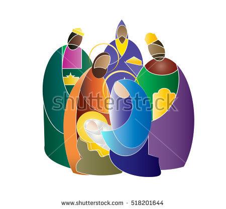 Jesus mary joseph clipart royalty free library Nativity Jesus Stock Photos, Royalty-Free Images & Vectors ... royalty free library