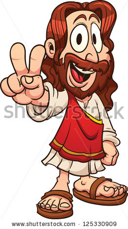 Jesus on the cross with mary clipart picture library Jesus Cartoon Stock Images, Royalty-Free Images & Vectors ... picture library