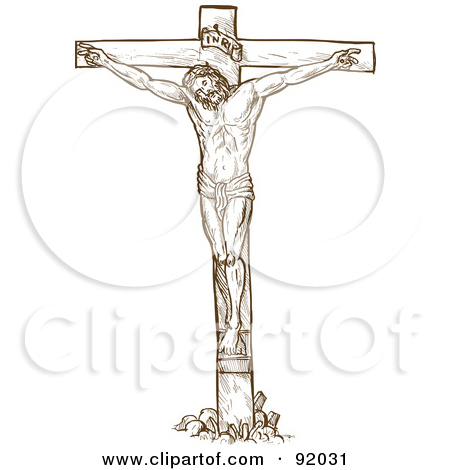 Jesus on the cross with mary clipart black and white Jesus on the cross with mary clipart - ClipartFest black and white