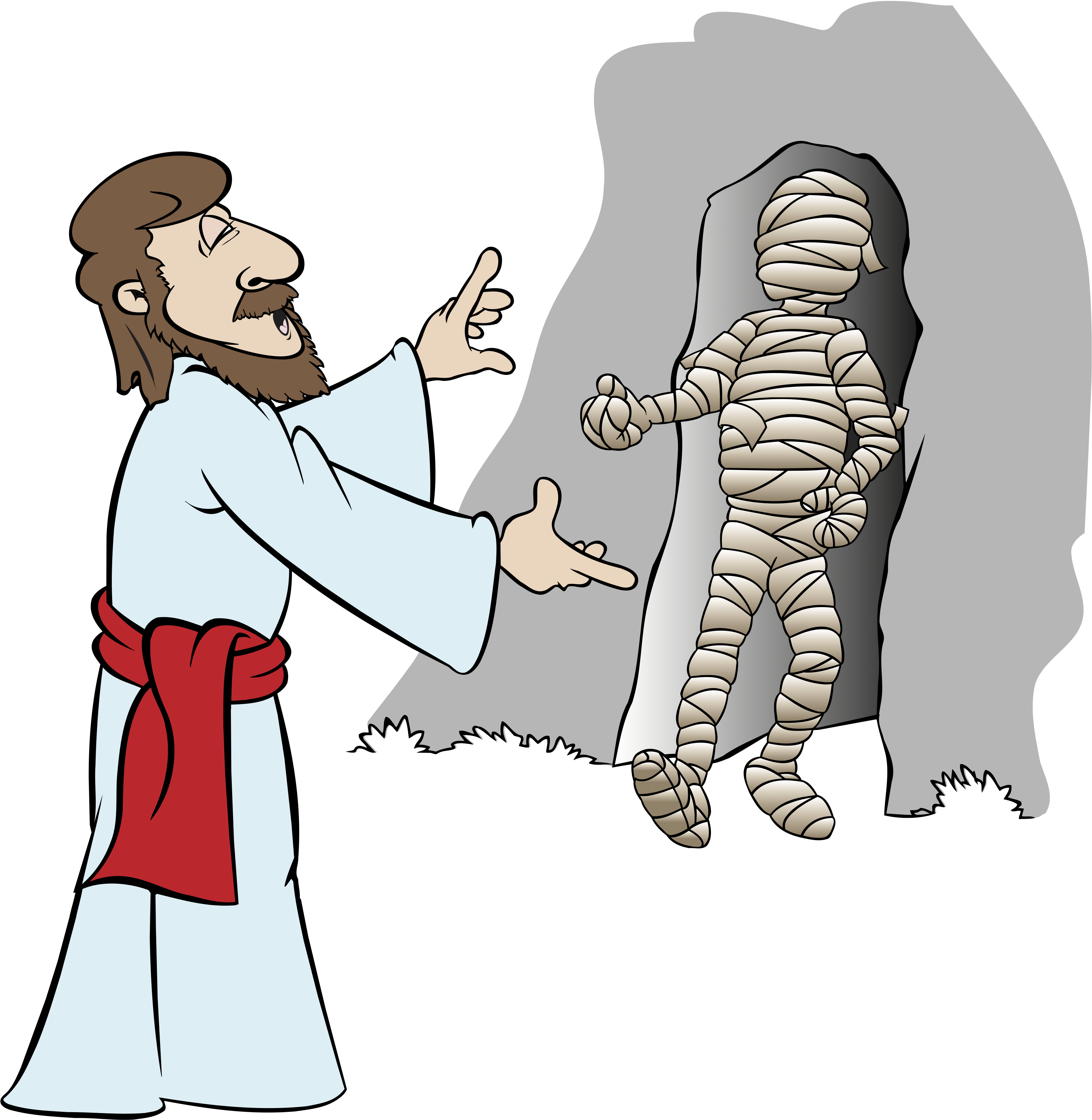 Jesus rising from the dead clipart jpg transparent download Jesus\' Miracles « RE:quest jpg transparent download