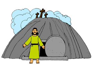 Jesus rising from the dead clipart svg freeuse download Burial and Resurrection of Jesus – Mission Bible Class svg freeuse download