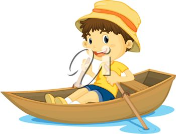Jesus row boat clipart clipart free library Illustration of a Boy Rowing a Boat clipart free library