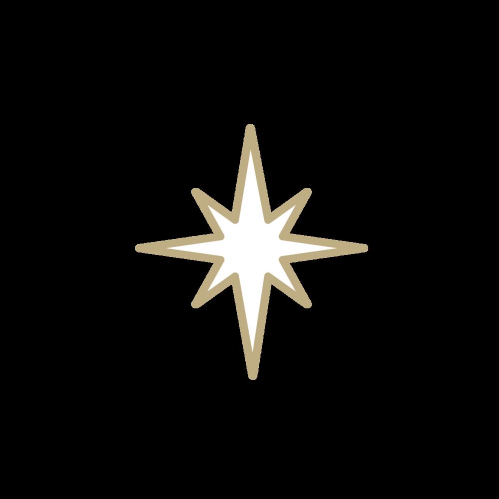 Jesus star clipart banner black and white stock Illustration — THOMASON DESIGN banner black and white stock