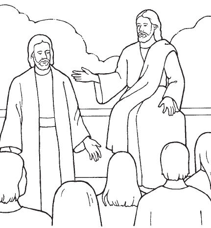 Jesus teaching in the temple clipart black and white banner black and white stock Free Jesus Teaching Cliparts, Download Free Clip Art, Free Clip Art ... banner black and white stock
