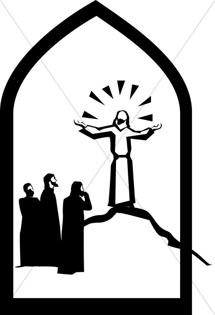 Transfiguration of jesus clipart black and white download Transfiguration of Jesus | Transfiguration Clipart black and white download