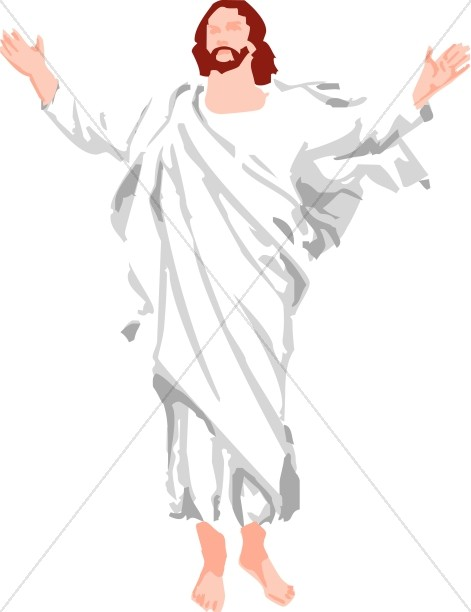 Jesus walking in the garden free clipart clip freeuse library Jesus Clipart, Clip Art, Jesus Graphics, J #116847 - Clipartimage.com clip freeuse library