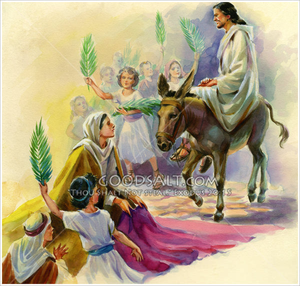 Free christian clipart jesus weeping for jerusalem vector library download Jesus Enters Jerusalem Clipart | Free Images at Clker.com - vector ... vector library download