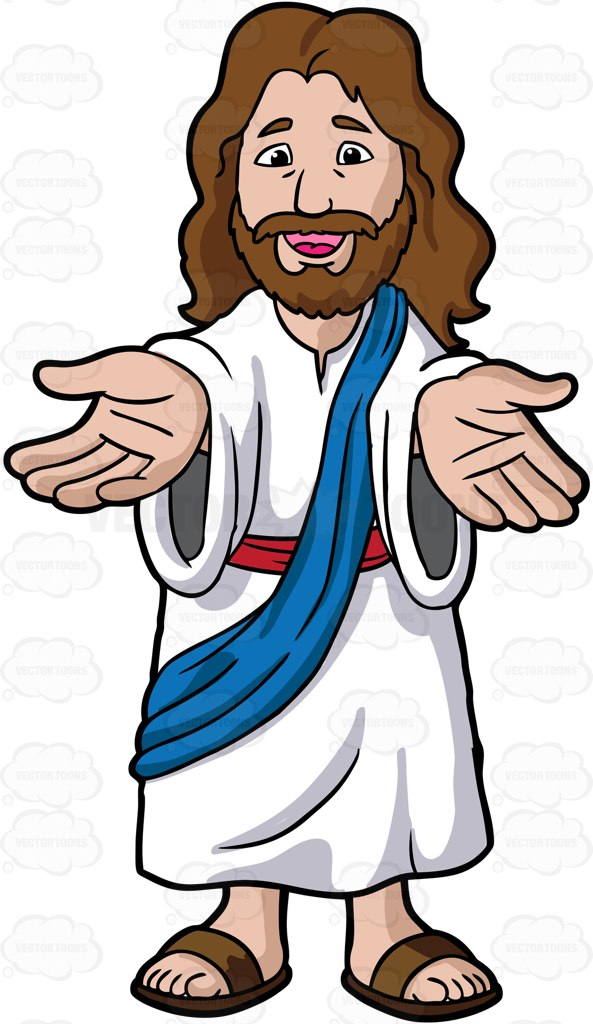 Jesus with with us clipart clipart black and white Jesus with with us clipart - ClipartFest clipart black and white