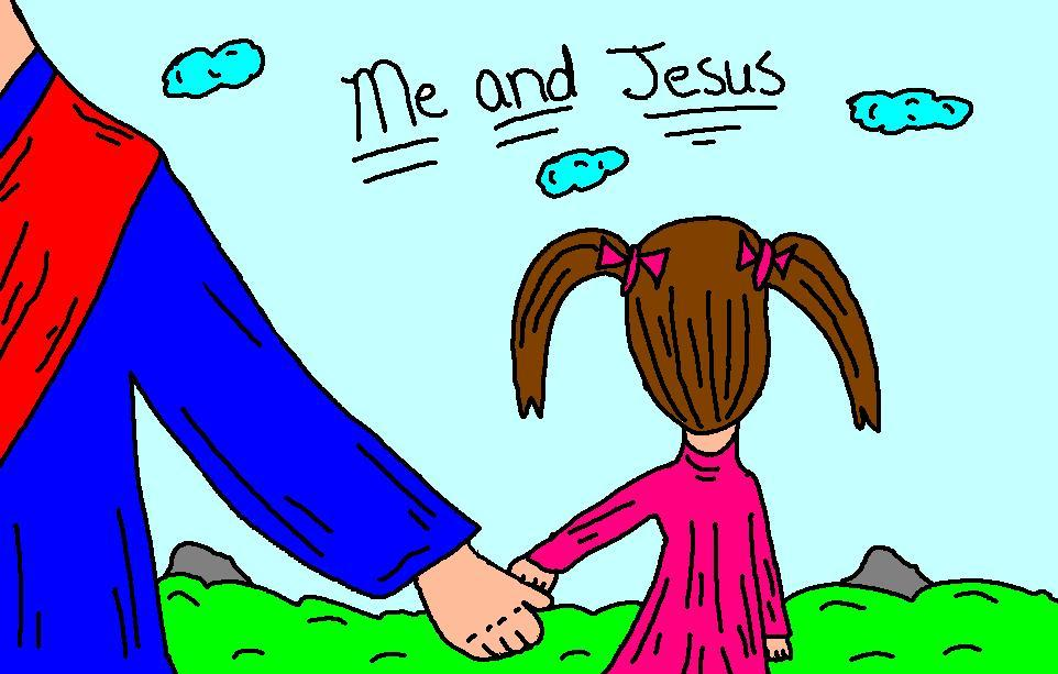 Jesus with with us clipart banner freeuse download Jesus And Mary Clipart - Clipart Kid banner freeuse download