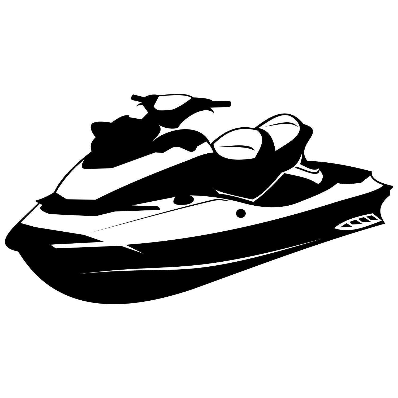 Jet ski clipart black and white transparent Free Jetski Cliparts, Download Free Clip Art, Free Clip Art on ... transparent