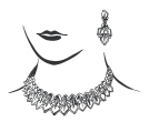 Jewellery models clipart hd clipart transparent stock Necklace Jewellery Lady Face | Clipart Panda - Free Clipart Images clipart transparent stock