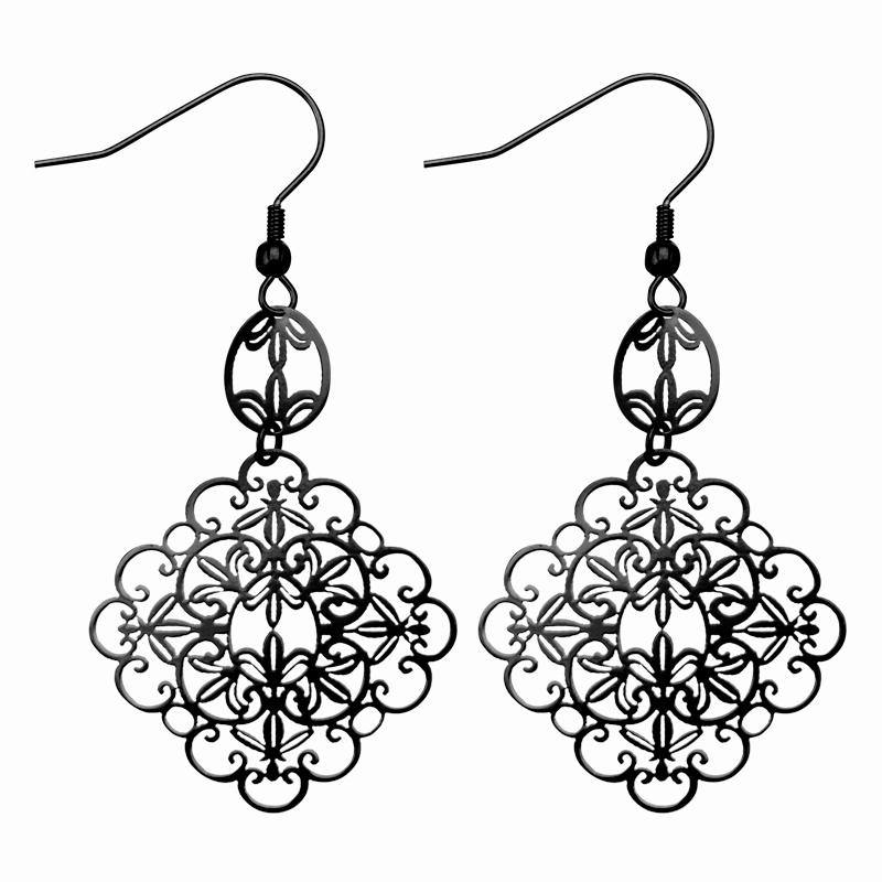 Jewelry black and white clipart jpg black and white download Earrings Clipart Black And White - Best All Earring Photos ... jpg black and white download