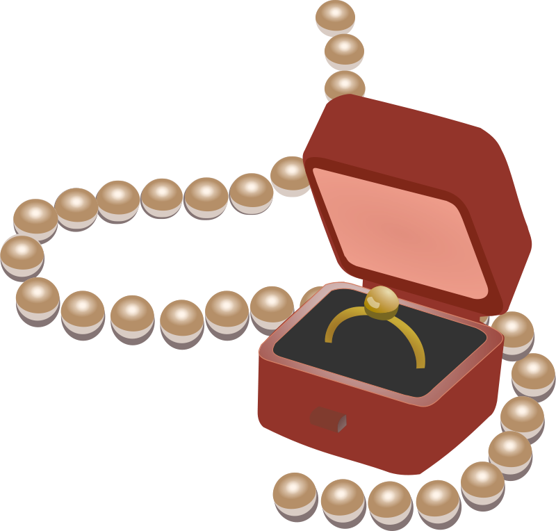 Jewelry box clipart svg free library Free Clipart: Jewellery box | wakro svg free library