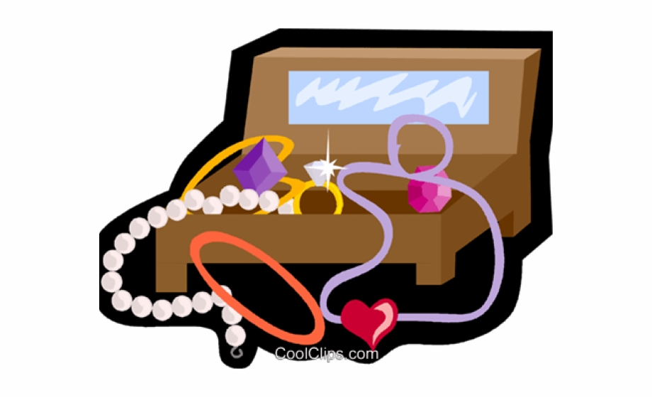 Jewelry box clipart png black and white library Necklace Clipart Vector - Png Jewelry Box Clipart, Transparent Png ... png black and white library