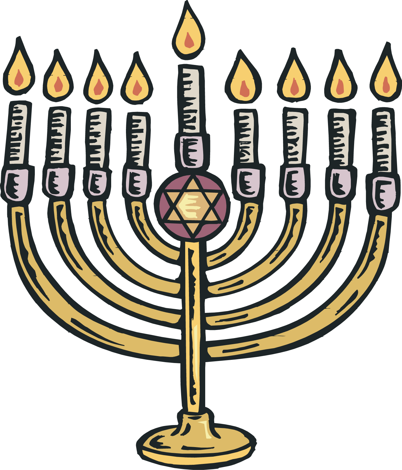 Jewish crown clipart graphic freeuse stock 28+ Collection of Menorah Clipart Free | High quality, free cliparts ... graphic freeuse stock