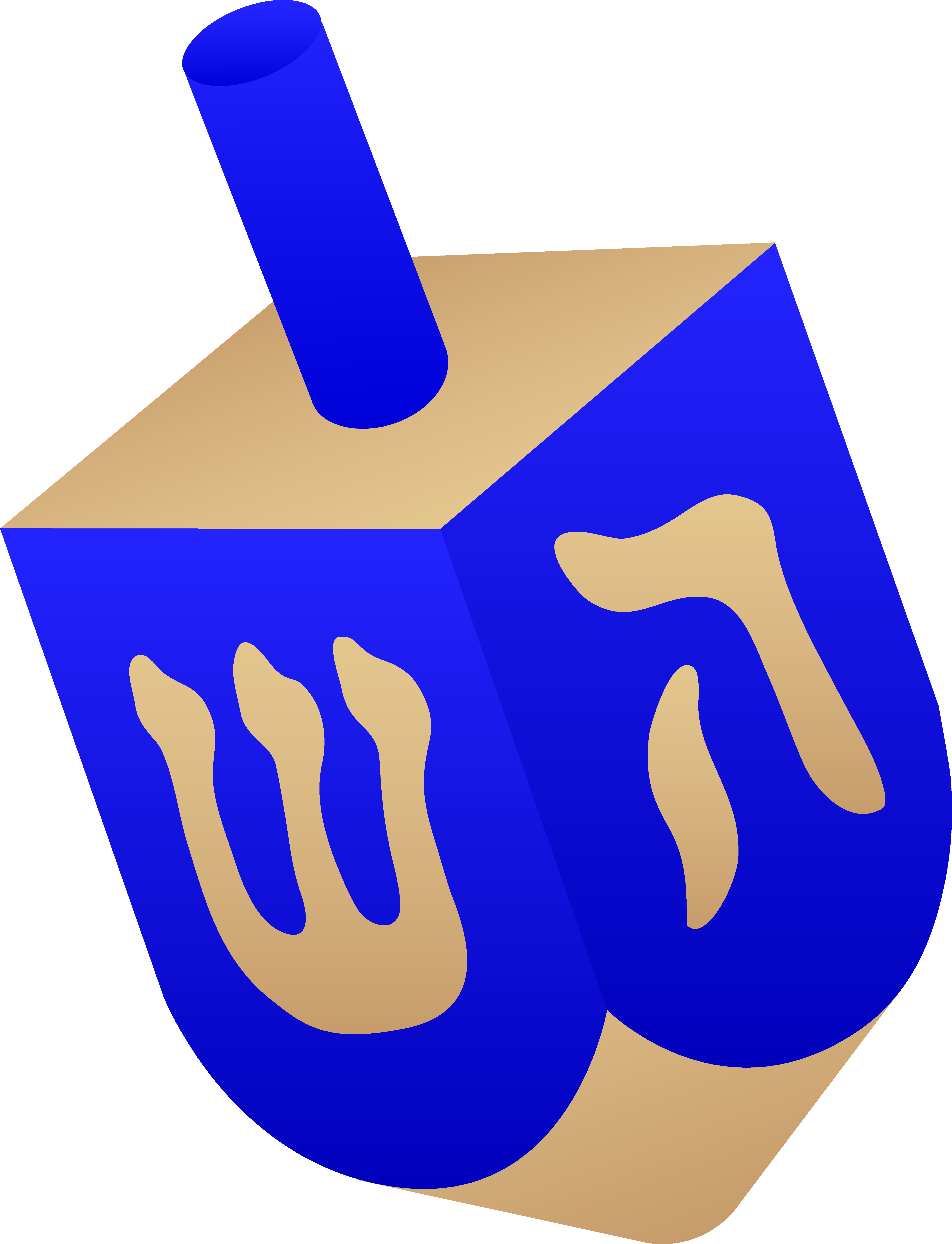 Jewish holiday symbols clipart