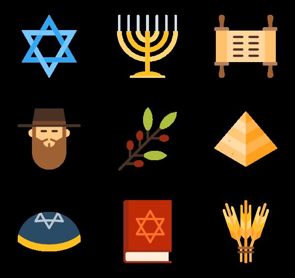 Jewish star of david clipart image free download Jewish Icons - 255 free vector icons image free download