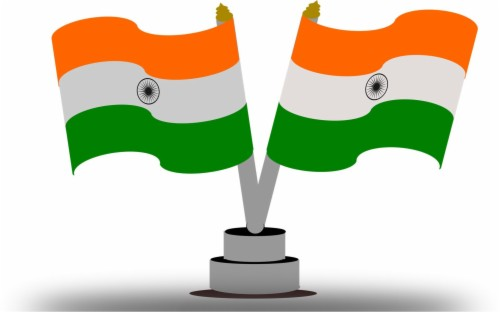 Jhanda clipart svg freeuse download Download Tiranga Jhanda Wallpaper - Flag Of India On ... svg freeuse download