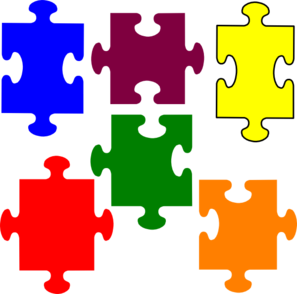 Jigsaw puzzle free clipart image transparent stock Jigsaw Puzzle clip art | Clipart Panda - Free Clipart Images image transparent stock