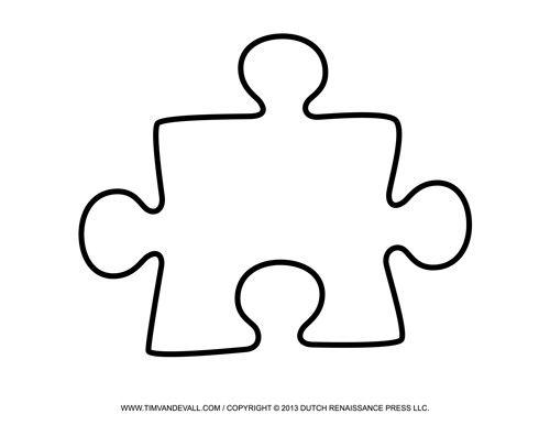 Jigsaw puzzle pieces clipart friendship vector freeuse Large Printable Puzzle Piece | Art Education | Puzzle piece ... vector freeuse